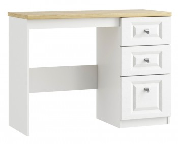 Pantano White and Oak Single Dressing Table
