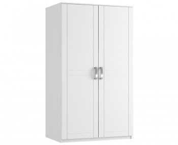 Aretina White 2 Door Tall Wardrobe