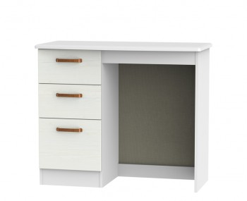 Castle White and Copper Single Dressing Table