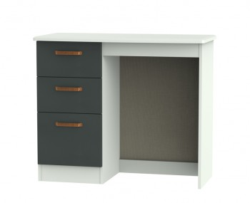 Castle Graphite and Copper Single Dressing Table