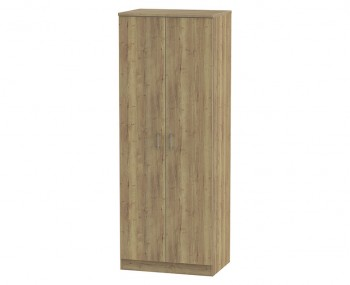 Devon Sterling Oak 2 Door Tall Wardrobe