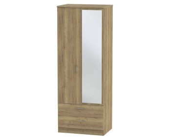 Devon Sterling Oak Tall Combi Wardrobe