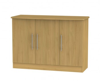 Siero Oak 3 Door Sideboard
