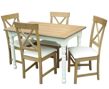 Dennis Medium Dining Table and Chairs