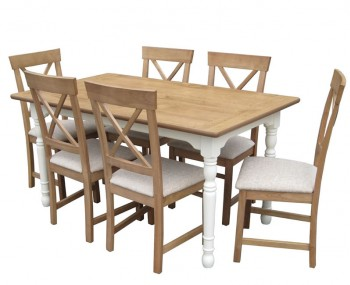 Dennis Large Dining Table and Chairs