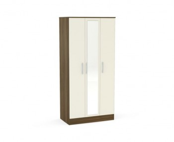 Laura 3 Door Wardrobe with Mirror