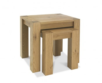 Ventura Light Oak Nest of Tables