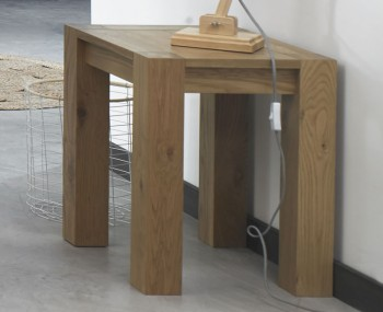 Ventura Light Oak Lamp Table