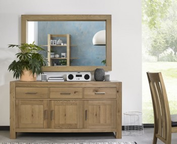 Ventura Light Oak Wide Sideboard