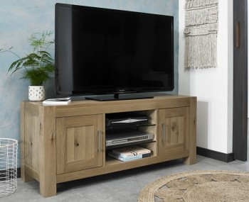 Ventura Light Oak Entertainment Unit