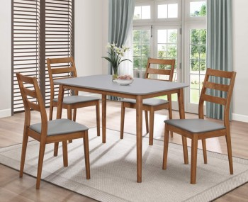 Paphos Walnut Kitchen Table and Chairs *Special Offer*