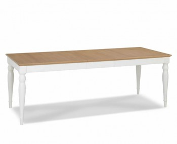 Hampstead Two-Tone Large Rectangular Extending Dining Table