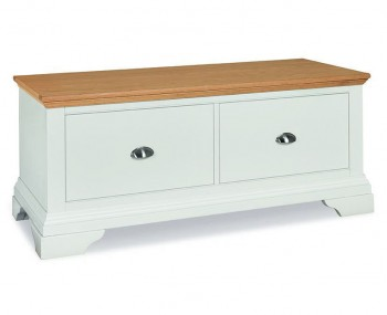Hampstead Two-Tone Blanket Box