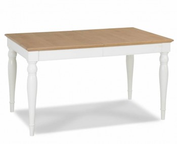 Hampstead Two-Tone Rectangular Extending Dining Table