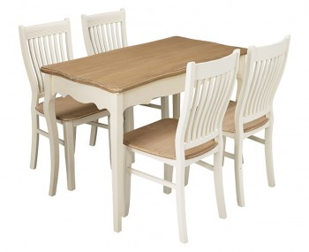 Candace Two-Tone Dining Set
