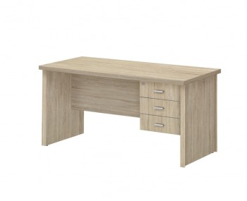 Benji Large Wooden 3 Drawer Desk