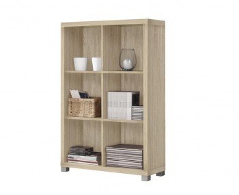 Benji Low Wooden Bookcase