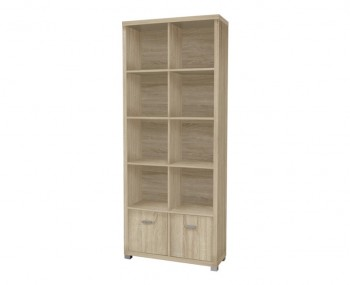 Benji Tall Wooden Bookcase