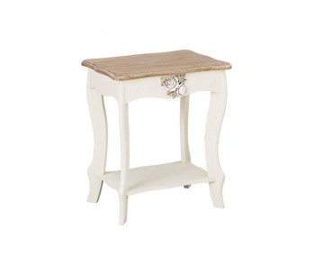 Candace Two-Tone Lamp Table