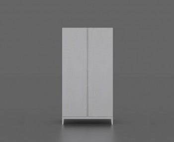 Magnolia 2 Door White Wardrobe