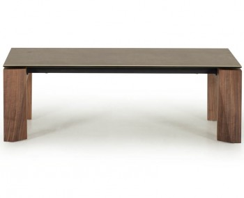 Serafina Walnut Coffee Table