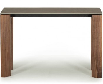 Serafina Walnut Console Table