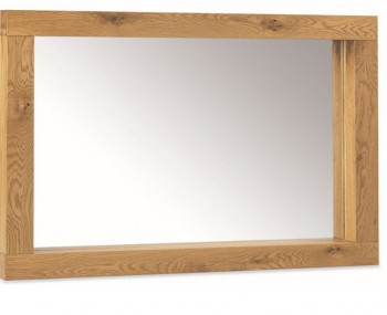 Lyon Oak Large Landscape Mirror