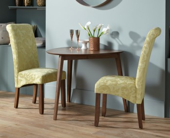 Chilford Walnut Breakfast Table and Chairs