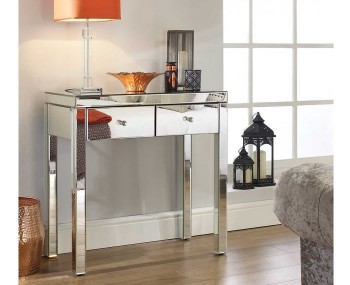 Giralda Single Mirrored Dressing Table