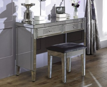 Valencia Single Mirrored Dressing Table