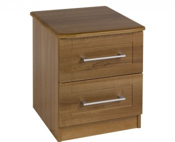 Marcello Walnut 2 Drawer Bedside Chest *Special Offer*