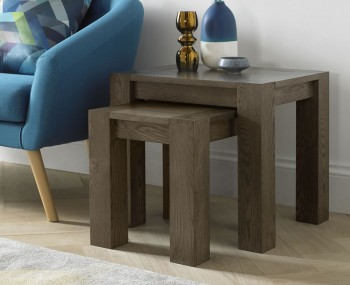Ventura Dark Oak Nest of Tables