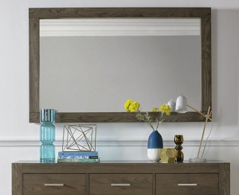Ventura Dark Oak Wall Mirror