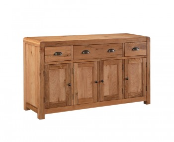Cliff Oak 4 Door Sideboard
