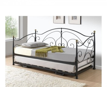 Milano 3ft Black Metal Day Bed *Special Offer*