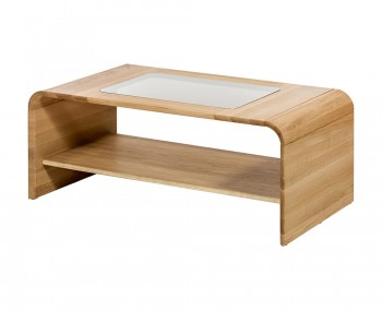 Korsor Oak and Glass Coffee Table