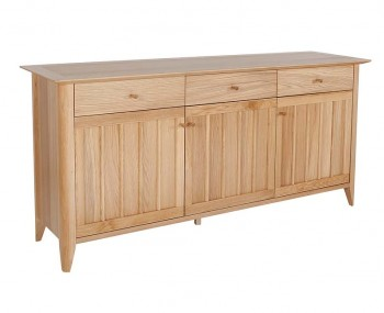 Staunton Oak Large Sideboard