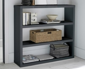 Puro Charcoal High Gloss Bookcase