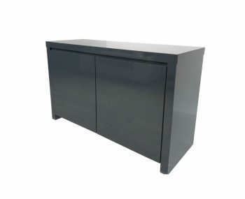 Puro Charcoal High Gloss Sideboard