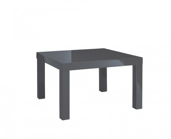 Puro Charcoal High Gloss Lamp Table