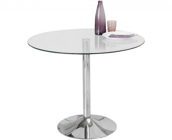 Jayden Clear Glass Kitchen Table *Special Offer*