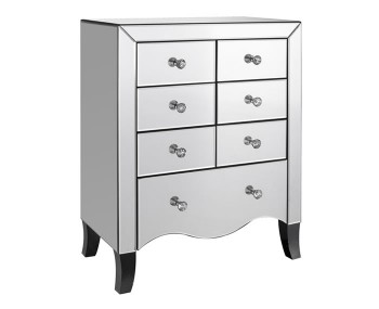 Cortese Mirrored 7 Drawer Chest *Special Offer*
