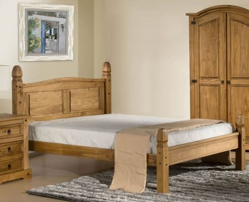 Desperados Pine Low Foot End Bed