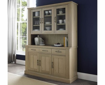 Chartreuse Aged Oak Display Unit