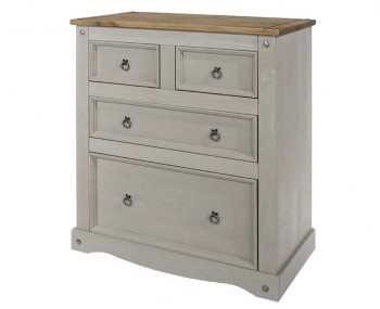 Estrella Grey  2+2 Drawer Chest