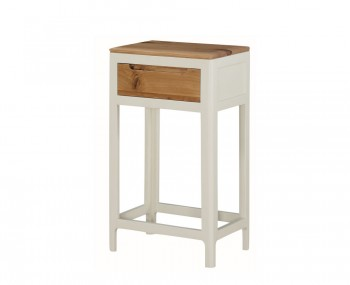 Dunmore Spanish White and Oak Medium Console Table