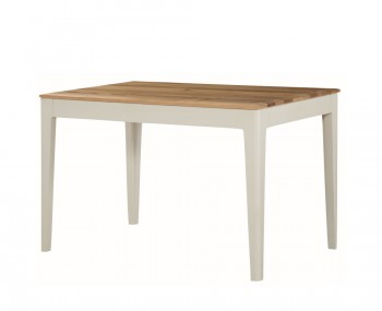 Dunmore Spanish White and Oak Dining Table