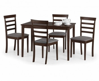 Cleo Mahogany Dining Table and Chairs