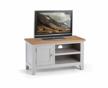 Vineyard Grey Two-Tone TV Unit
