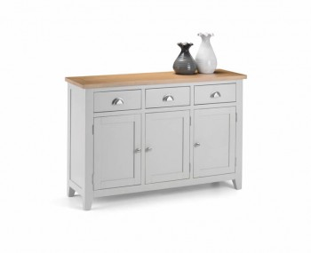 Vineyard Grey Two-Tone Sideboard